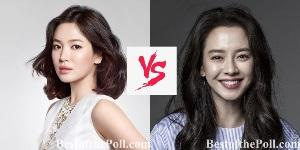 Song Hye-kyo vs Song Ji-hyo-2