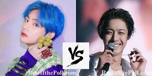 Kim Taehyung (V) vs Kim Hyun-joong-2