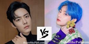 Xiao Zhan (Sean Xiao) vs Kim Taehyung (V)-2